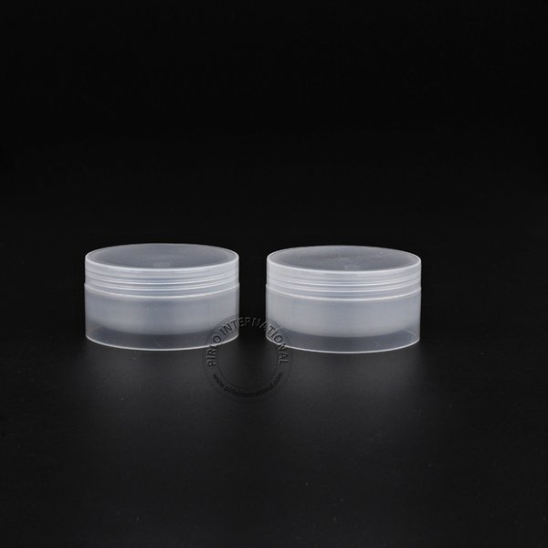 Free shipping-Excellent Makeup Tools 50g/50cc Clear Plastic Jar Cosmetic Packaging Containers For Facial Mask/Hand Cream 30pcs
