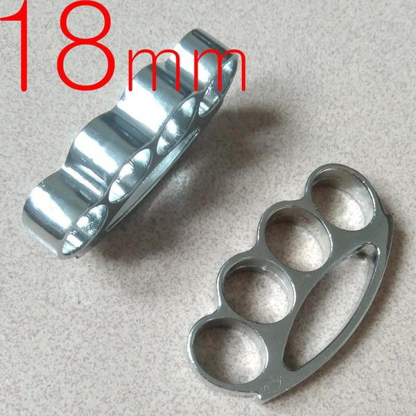Thick and heavy Thickness 18mm steel Knuckle Brass Knuckles Duster Fitness Equipment Knuckles 1pc