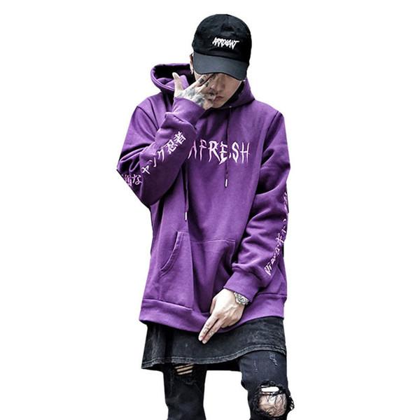 Spring Pg One Sweatshirts Men Cotton Fashion Hip Hop Hoodies Us Size C190416