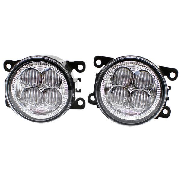 Front Bumper LED Fog Lights High Brightness DRL Driving fog lamps 1set For Suzuki Grand Vitara 2 JT 2005-2015