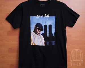 Notorious Big Biggie Smalls Legend Twin Towers T-Shirt Photo BlaCustom Hip Hop NY L