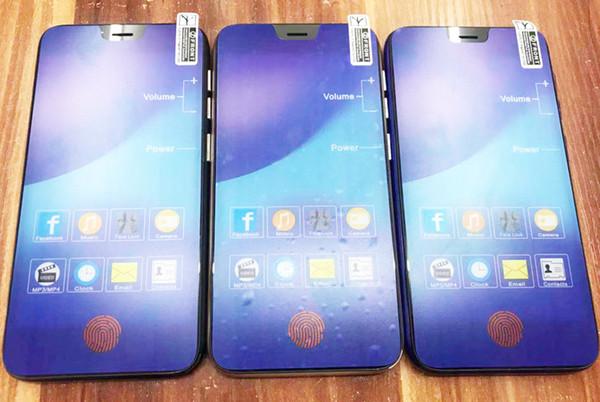 Cheap MTK6580 3G F9 Mobile Phone 1G Ram 8G Rom Cell Phone 500W+200W Camera Phone