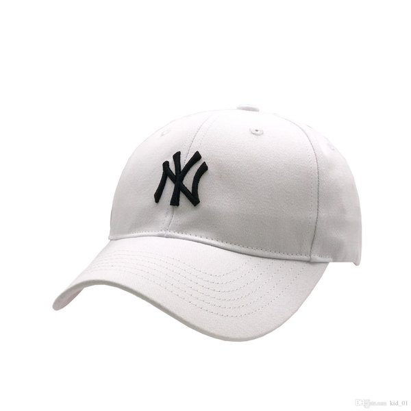 NEW ML040 White NY Yankees icon 1:1 Classic Hat Gift Box High Quality Embroidery Casquettes Free Shipping