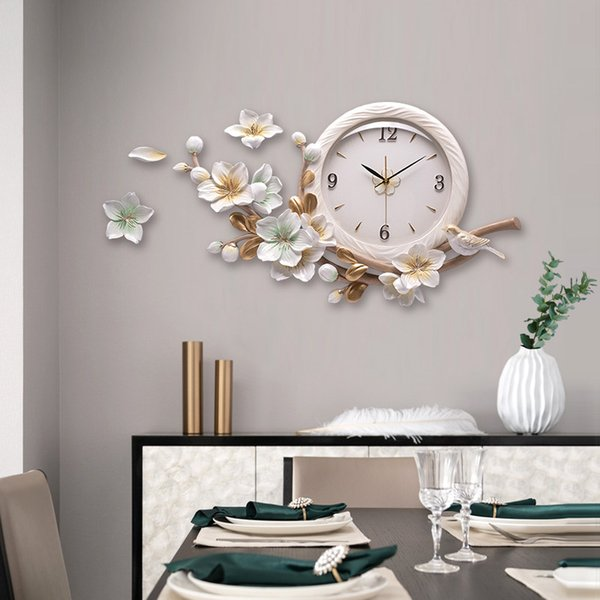Creative Fashion Restaurant Wall Clocks Clocks Living Room Clock