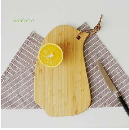 New Mini Bamboo Fruit Chopping Board Bird Baking Plate Cutting Board Infant Children Consisting Chopping Blocks Eco-friendly