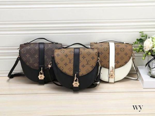 New Messenger Bag Ladies Handbag Chain Ring PU Leather Bags Retro Envelope Bag Diagonal Lady Shoulder Bag Designer Women Handbags Purses 109
