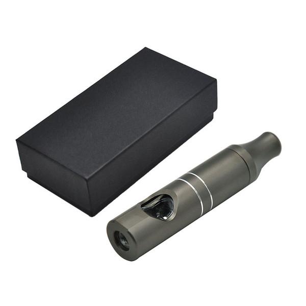 Mais novo Matel Vape Forma Tubulação 110mm Tubos De Fumo Com Embutido Tigela De Vidro Gun Preto de Alta Qualidade Frete Grátis