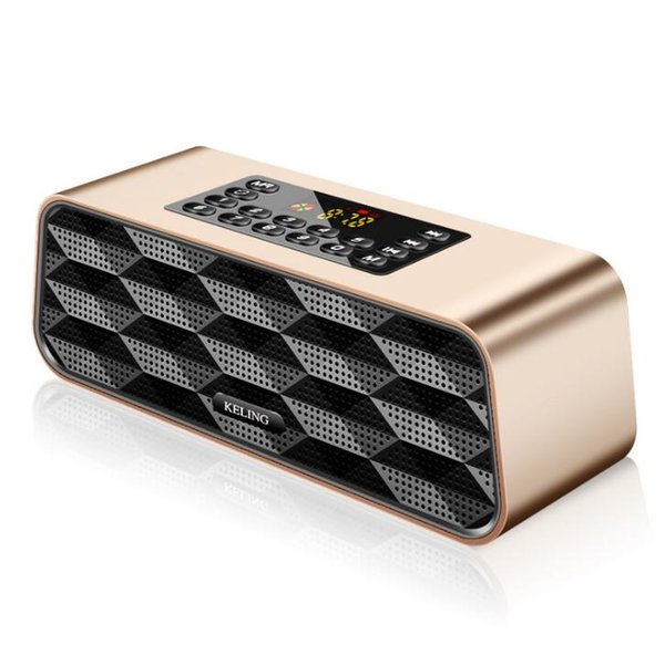 F6 Bluetooth Speaker Subwoofer Mobile Phone Wireless Speaker Multifunction Senior Radio Card Battery capacity 2600mAh Output power 3W