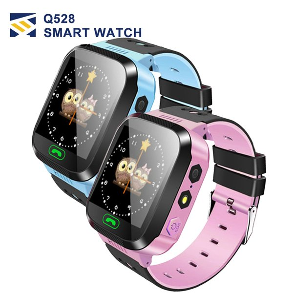 Q750 Kids Smart Watch 1.54 pulgadas de pantalla táctil GPS Wifi LBS Monitor SOS Call Safe Anti-Lost Localización de dispositivos para el niño niño bady Smart wa
