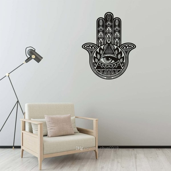 Free Shipping Hot Creative Mandala Pattern Living Room Study Office Wall  Decoration Stickers Removable Self