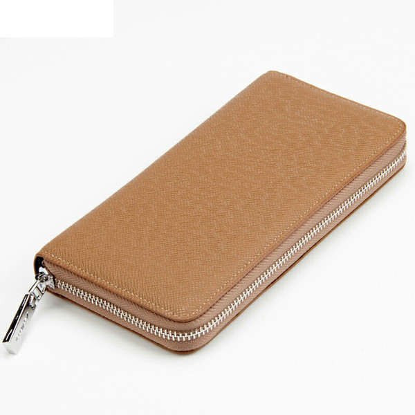 2019 New Long Men Wallet Fashion Male Clutch Bag Men Leather Wallet Big Capacity Purse Casual Business Male Wallet Coin Pt1197