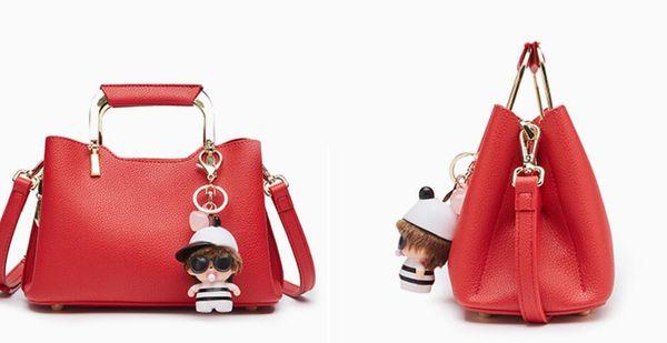 Designer-Ruil Women Color splicing Little bee Bags Zipper Designer Handbag Casual Shoulder Messenger Bag New Sac Femme handbags bags B05