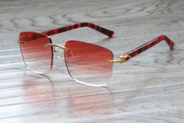 Gold Mix Red Lens