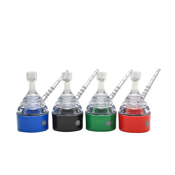 Новый электронный вакуумная труба бутик курительная трубка пластиковые конусообразные Оптовая металл YH ST039