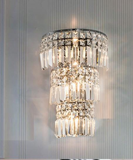 2020 Large Crystal Wall Lamp Living Room Modern Industrial Sconce