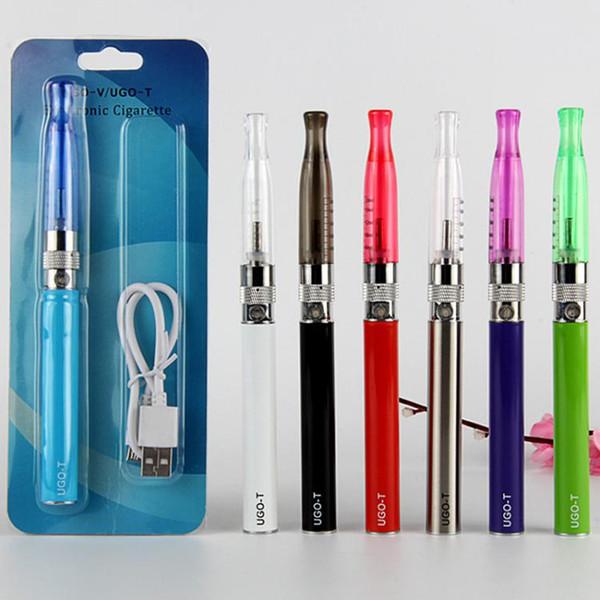 H2 atomizer vape pen ugo-t ego vaporizer pen 510 thread battery 650mah 900mah 1100mah blister starter kits e cigarettes smoking vape kit