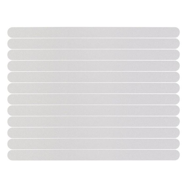 ome Improvement 6 12 24pcs Anti-Slip Strips Shower Floor Stickers Bath Safety Strips Transparent Non Slip Tape For Bathtubs Stairs 2cm X ...