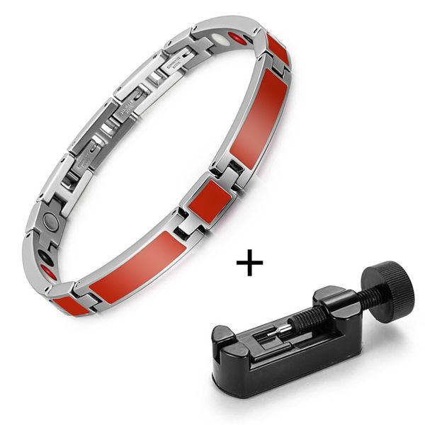Red bracelet tool