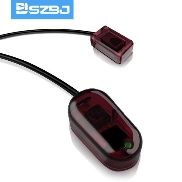 USB-Infrarot-Repeater-Set, Infrarot-Remote-Extension-Repeater, versteckte Geräte (1 Sender 1 Empfänger) hohe Empfindlichkeit