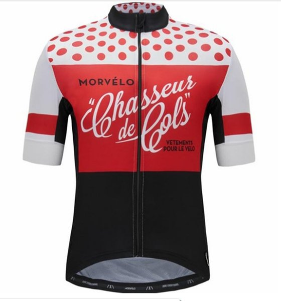 2019 Anti_shrink Men's retro Breathable cycling jersey summer pro team cycling clothing bicycle wear roupas ciclismo maillot Tops