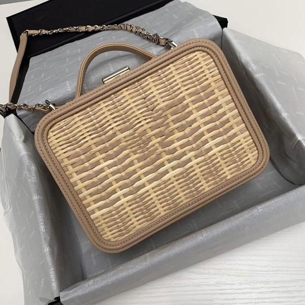 Sac à main designer chai une épaule haut sac en rotin designer sac à bandoulière chaîne américaine sac à bandoulière en gros.