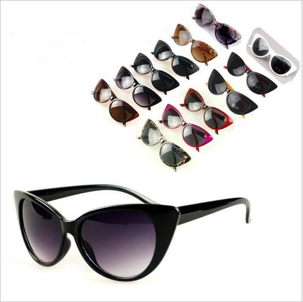 Gafas de sol de diseño Espejo Gafas de sol Sexy Cat Eye Marcas Gafas de sol Cateyes Anti-UV400 Gafas Restor Summer Beach Sunglasses Goggle TL320