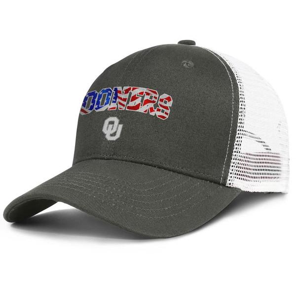 Fashion Mesh Baseball hats Men Women-Oklahoma Sooners football USA flag logo designer hats snapback Adjustable Summer caps Outdoor