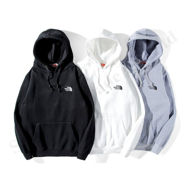 Fashion Couples The North Fleeced Hoodies Casual Sweater Face Winter Warm Women Men Long Sleeve Hooded Pullover NF Cotton Sweatshirt C120903