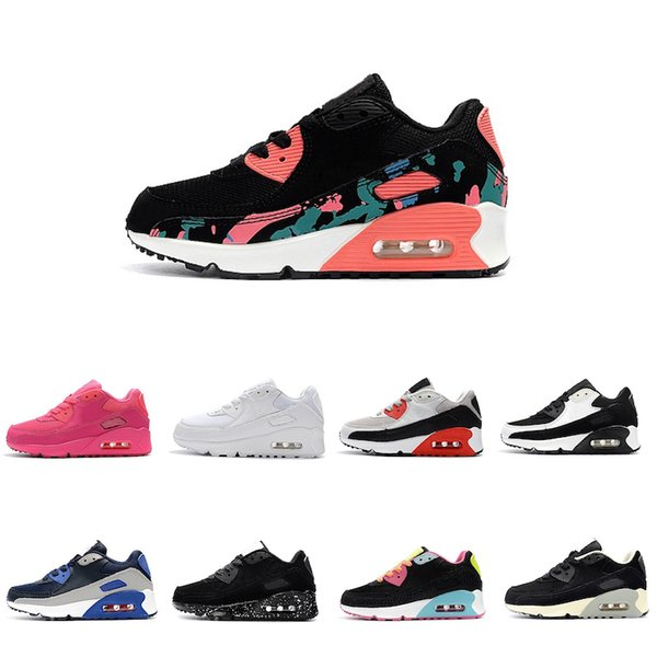 Acheter Nike Air Max 90 Vente Pas Cher Enfants Sneakers