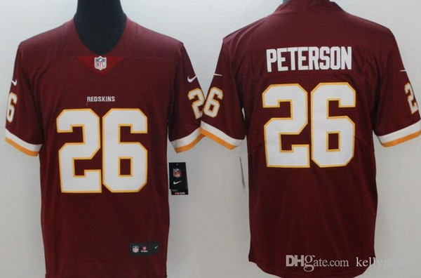 meet 48cae 5531c 2019 Washington Embroidery Redskins Men Jersey #21 Sean Taylor 11 Alex  Smith 26 Adrian Peterson Women Youth Limited Football Jerseys From  Hs080231, ...