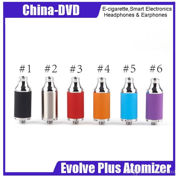 100% originale Yocan Evolve Plus Wax Atomizzatore Dual Quatz Coil Fit Yocan Evolve Plus Kit Nero SS Rosso Blu Arancione Viola 2204045