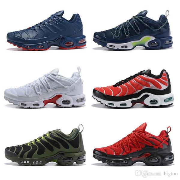 2019 nuevos hombres diseñador zapatos al aire libre zapatillas ultra tns más chaussures tn SE blanco negro rojo azul barato airlis venta