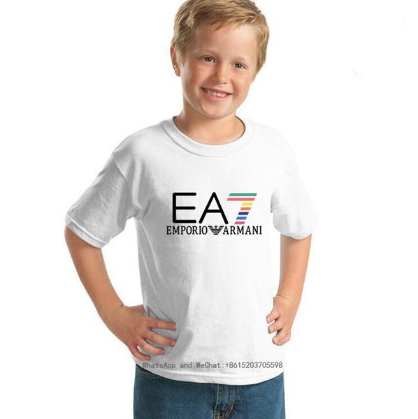 Jungen Kurzarm Marke Hund niedlichen T-Shirt Kinder Freizeit Jacke neue Muster tragen 2019 Sommer Kinderkleidung Baby 0317