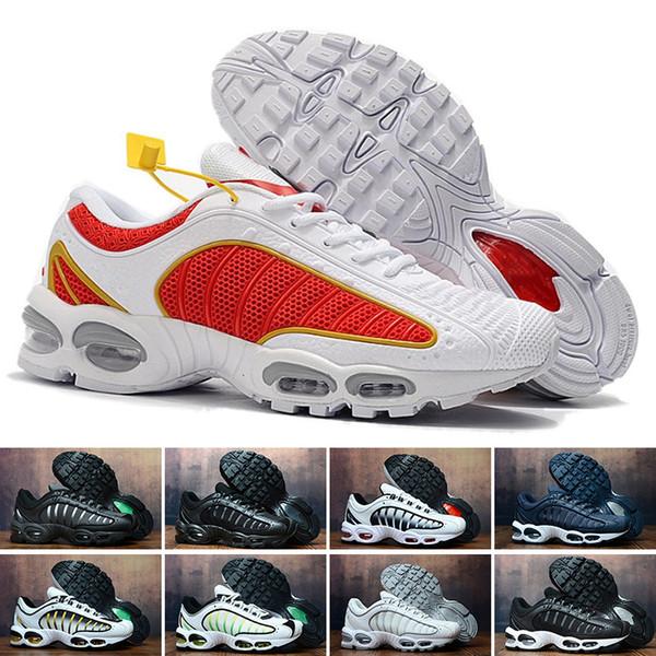Nike Air Max Tn 2019 Running Shoes Tn original mais barato Mens Air Tn SE Preto OG Sports Chaussures Além disso Mercurial Branco Presto Ultra Trainers CB291