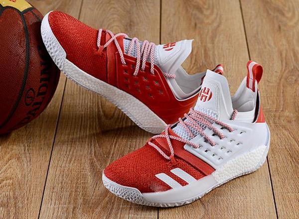 YENI Varış moda tasarımcısı ayakkabı James Harden Vol. 2 Ayakkabı Mens MVP Eğitim Sneakers erkekler Spor ayakkabı Boyutu 40-46