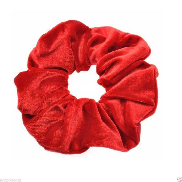 Red Hair Scrunchies