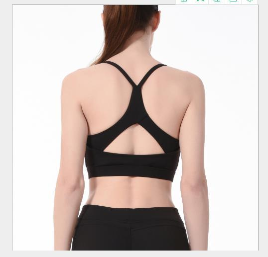 Einfarbig frauen designer sport weste sexy mode bh casual yoga weibliche oberbekleidung stoßfest freizeitkleidung