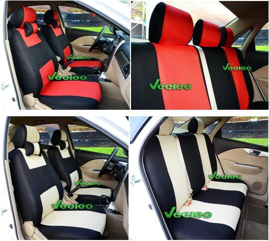 Universal-Sitzbezug für SUBARU-Förster-Outback Xv-Göre Vivio Ecvt durch atmungsaktives Material + Airbag kompatibel + Logo + Wholesale + Free Versand
