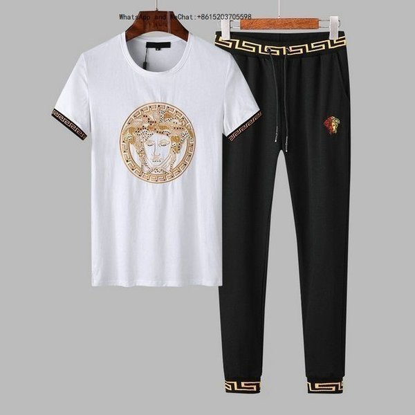 Sexy2019 Summer Pity Short Flax The Tide Men's Wear Man V Lead Solid Color T Blood Shirt Ephebe Half Sleeve Clothes Suit