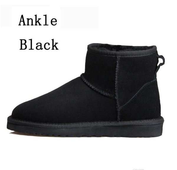 1 black ankle boots