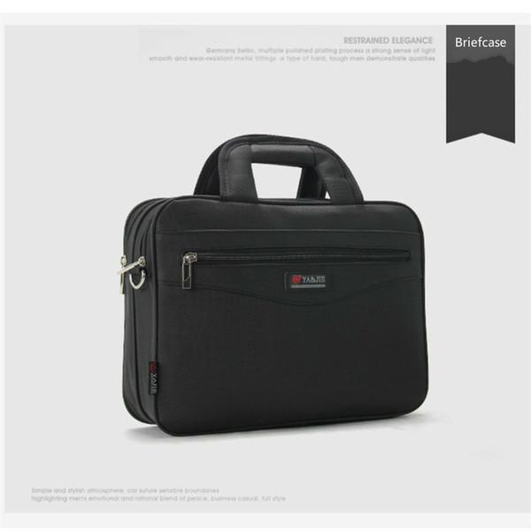 2019 Business Women's Briefcase Totes Handbags Oxford Cloth Waterproof Men Laptop Bags Office File Bag Male Work Shoulder Bags #374511