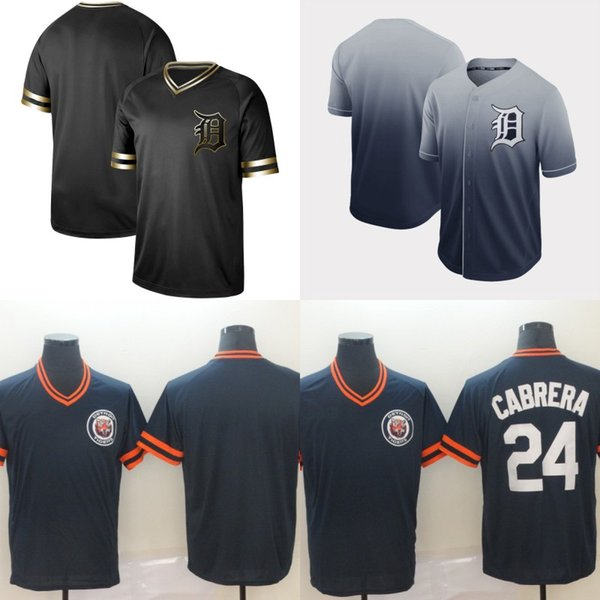 sale retailer a20ea 01e65 2019 Mens Detroit Jersey 24 Miguel Cabrera Black Gold 100% Stitched Miguel  Cabrera Tigers Baseball Jerseys Cheap Fast Shipping From Projerseysword, ...