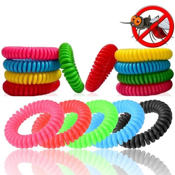 top popular Anti-Mosquito Repellent Bracelet Anti Mosquito Bug Pest Repel WristBand Insect Repellent Mozzie Keep Bugs Away Mosquito Killer FFA1939 2019