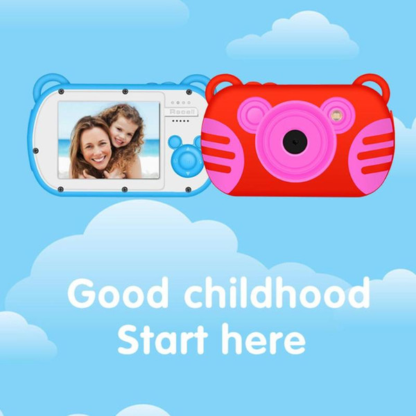 ALLOYSEED K6 Mini Chidren Camera 8X Digital Zoom 2.7inch Screen 18MP DSLR Camera Video Recorder Camcorder for Kids Gift