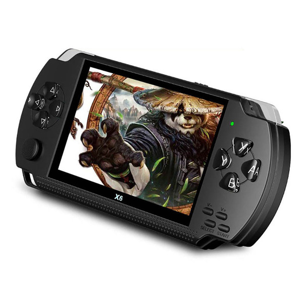 Juego portátil PSP de 4.3 pulgadas 128bit 8GB arcade nes nostálgico sup consola portátil de reproducción mp5