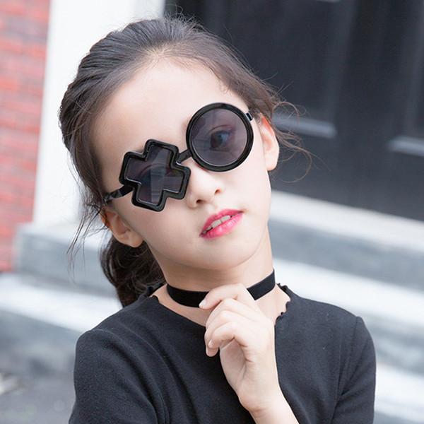 7ca96f7a12ed Unique Brand Designer Sunglasses For Kids Cute Personality Cool Funny  Shaped Party Sun Glasses Children Boys