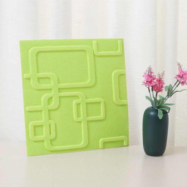 1PCS 30x30cm DIY Self Adhesive 3D Wall Stickers Bedroom Decor Foam Brick Room Decor Wallpaper Wall Living Sticker