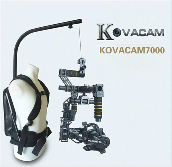 Freeshipping KOVACAM 1-8kg bear video cameras easy rig for dslr DJI Ronin M 3 AXIS gimbal stabilizer Gyroscope Gyro steadicam vest