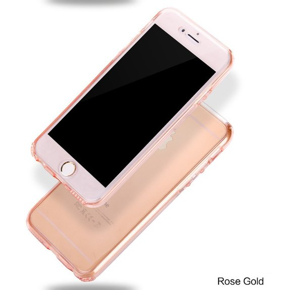 Soft TPU Flip Case Clear Full Cover Cases For Apple iPhone 7 4.7 Inch Slim Fit Phone Protctive