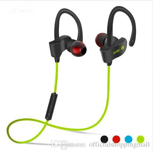 Fashional 56S Sports In-Ear Wireless Bluetooth Earphone Stereo Earbuds Headset Bass Earphones with Mic for iPhone X Samsung Samrt Phone